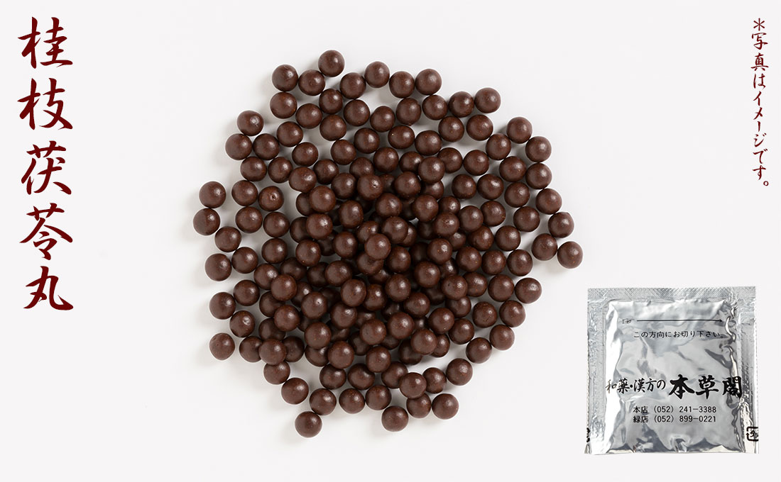 桂枝茯苓丸(けいしぶくりょうがん)丸薬 15日分