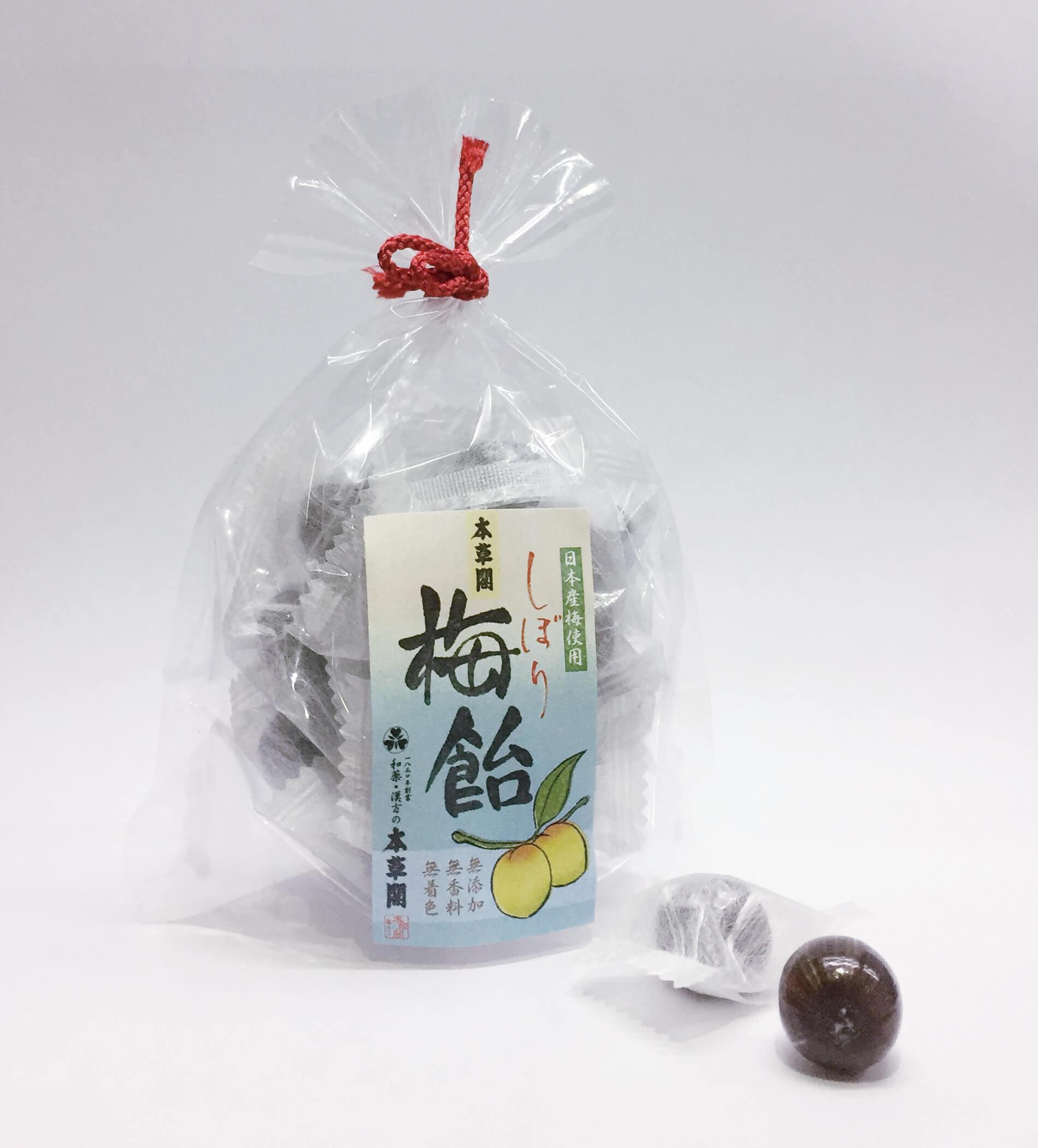 しぼり梅飴