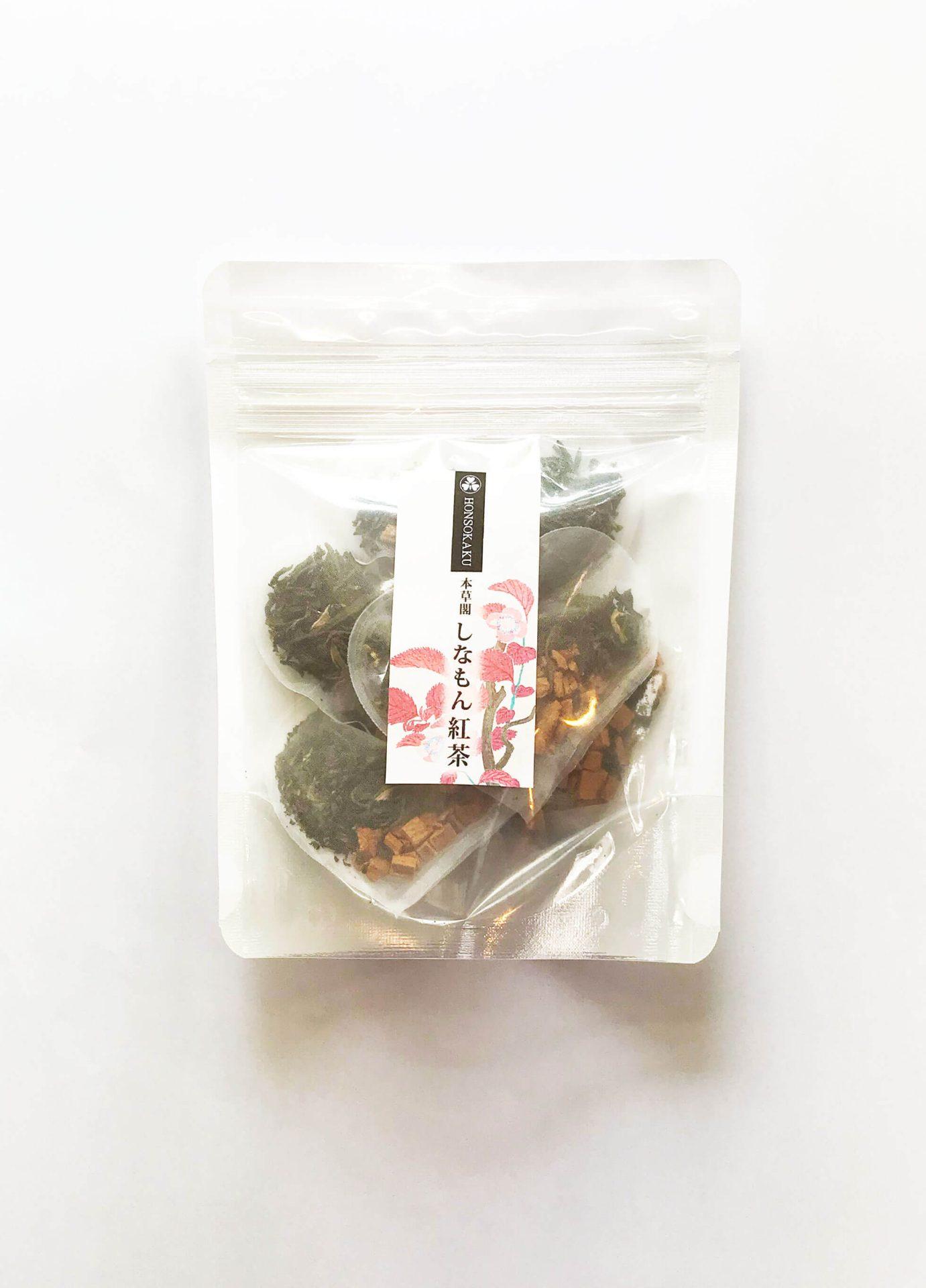 本草閣しなもん紅茶(3個以上ご購入の方)樹齢千年を超える古木の茶葉と30年シナモンの香り